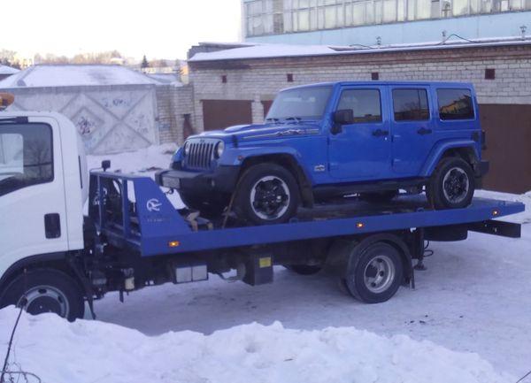эвакуация Jeep