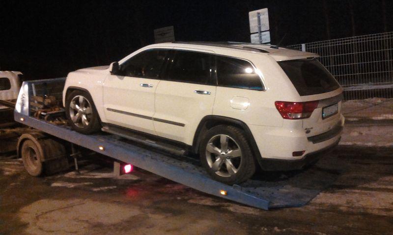 Эвакуация Jeep Grand Cherokee  - Челябинск