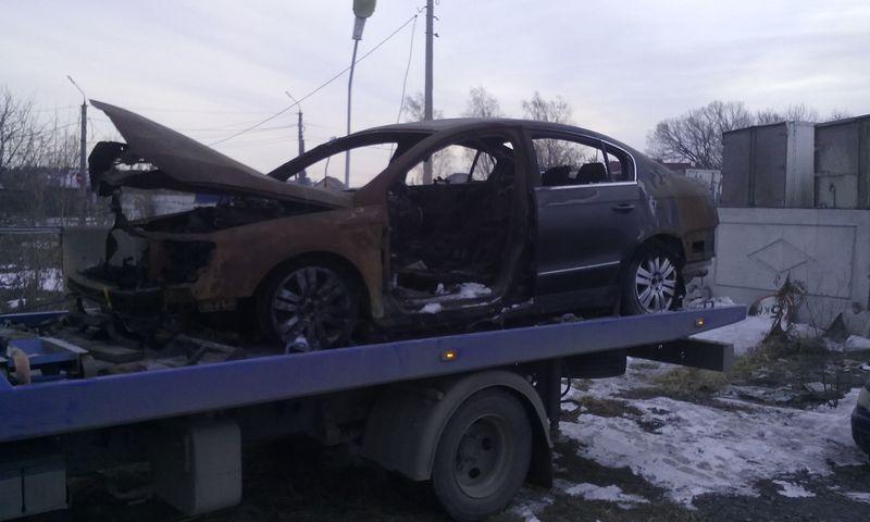 Эвакуация Volkswagen Passat