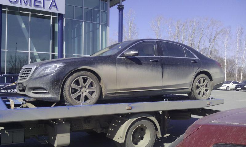 Эвакуация  Mercedes-Benz S500