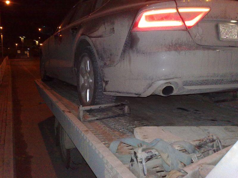 Эвакуатор - перевозка Audi A7